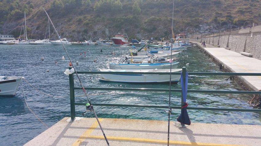 Pesca alla Bolognese a Palinuro e costa del Cilento
