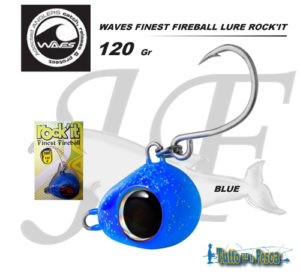 WAVES FINEST FIREBALL LURE ROCK'IT 120 GR