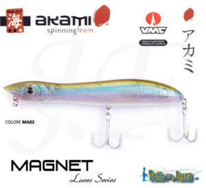 ARTIFICIALE AKAMI MAGNET 135 MM