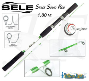 CANNA DA PESCA STAGE SQUID ROD