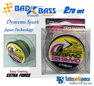 DYNEEMA BAD BASS 270 MT