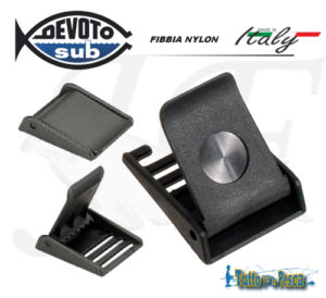 FIBBIA IN NYLON DEVOTO SUB