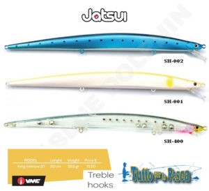 ARTIFICIALE LONG MINNOW 200 JATSUI