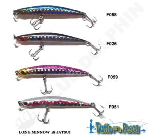 ARTIFICIALE JATSUI LONG MINNOW 18