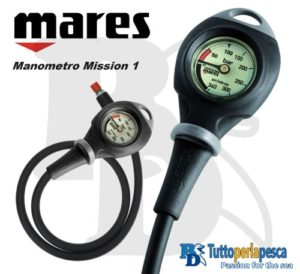 MARES MANOMETRO MISSION 1