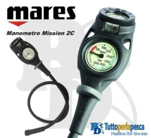 MARES MANOMETRO MISSION 2C
