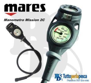 MARES MANOMETRO MISSION 2C