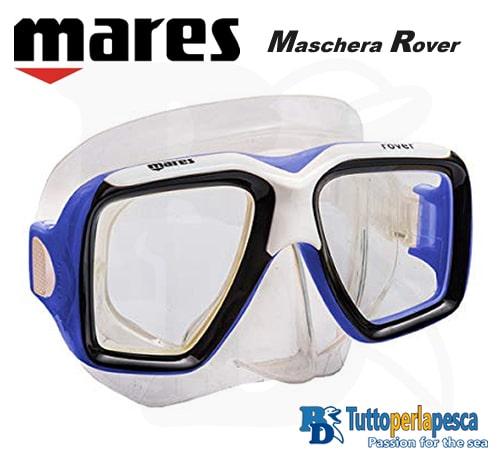 mares-maschera-adulto-rover-clear-blu