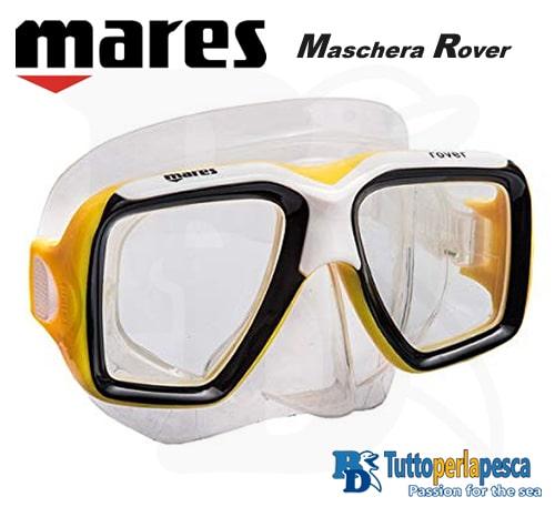 mares-maschera-adulto-rover-clear-giallo