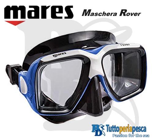 mares-maschera-adulto-rover-nero-blu