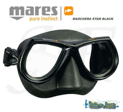maschera-mares-star-black