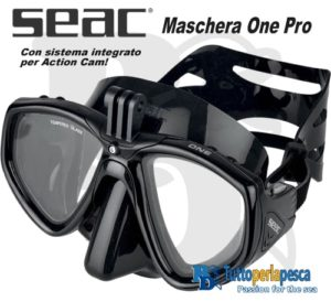 MASCHERA SEAC ONE PRO BLACK