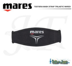 TESTIERA MASK STRAP TRILASTIC MARES