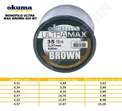 monofilo-ultra-max-brown-okuma