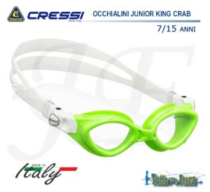OCCHIALINI JUNIOR KING CRAB CRESSI