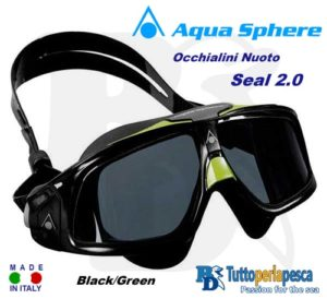 OCCHIALINI NUOTO SEAL 2.0 AQUA SPHERE