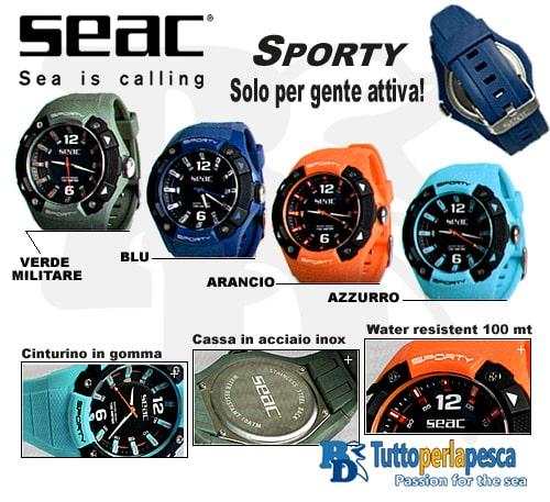 SEAC OROLOGIO SUBACQUEO SPORTY