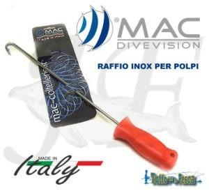 RAFFIO MAC PER POLPI INOX 38 CM