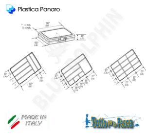 SCATOLA PORTA MINUTERIA 191 PANARO