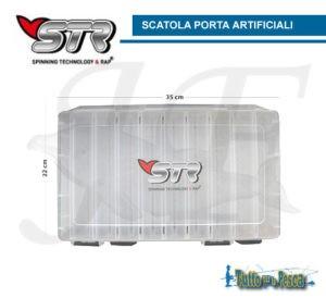 SCATOLA PORTA ARTIFICIALI 18 SCOMPARTI STR