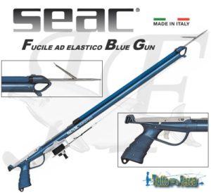 SEAC FUCILE AD ELASTICO BLUE GUN