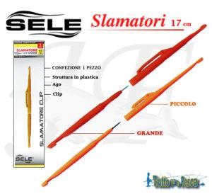 SELE SLAMATORE CLIP IN PLASTICA 17 CM