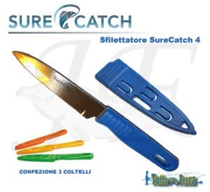COLTELLO SFILETTATORE SURECATCH 4