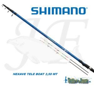 SHIMANO NEXAVE TELE BOAT 3.50 MT
