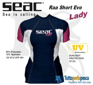 T-SHIRT SEAC RAA SHORT EVO LADY
