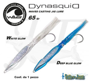 WAVES CASTING JIG LURE DYNASQUID 65 GR