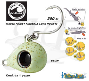 WAVES FINEST FIREBALL LURE ROCK'IT 300 GR