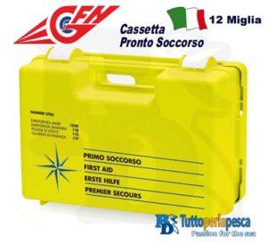 CASSETTA PRONTO SOCCORSO 12 MIGLIA