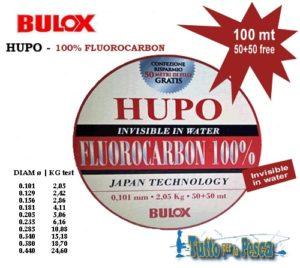 FLUOROCARBON BULOX HUPO 100 MT