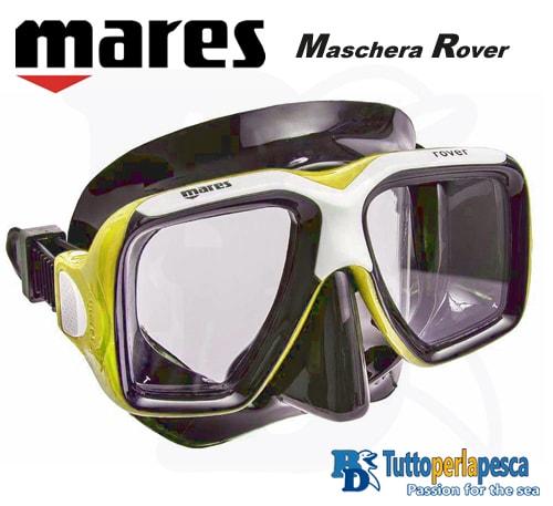 mares-maschera-adulto-rover-nero-giallo
