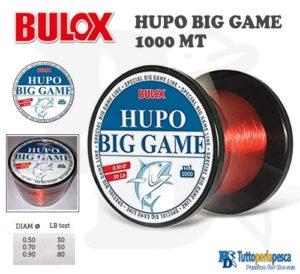 MONOFILO HUPO BIG GAME 1000 MT BULOX