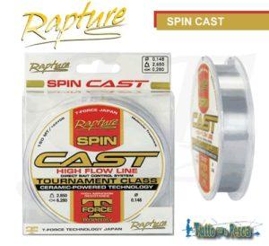 MONOFILO SPIN CAST RAPTURE 150 MT