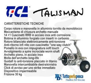 TICA TALISMAN TG 8000 H