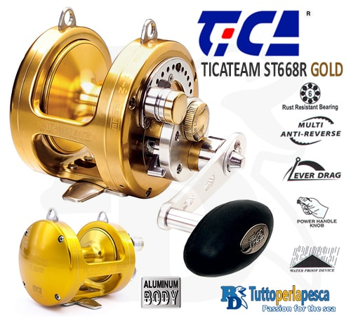 mulinello-traina-tica-st668r-gold